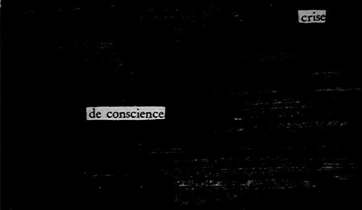 Crise de conscience