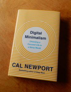 Le livre Digital Minimalism de Cal Newport