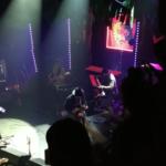 Lors du spectacle de lancement du Ep Grouillades de Clay and Friends au Club Soda, le 6 février 2020.